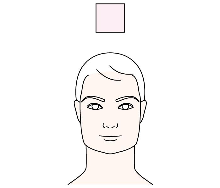 ベース型眉毛