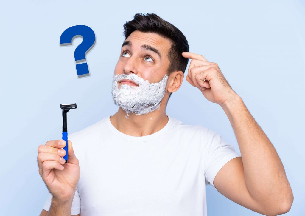 ひげ脱毛の後に髭剃りをしても大丈夫なの?